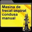Masina de frecat-aspirat condusa manual
