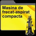 Masina de frecat-aspirat compacta