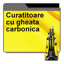 Curatitoare cu gheata carbonica