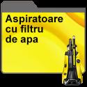 Aspirator cu filtru de apa