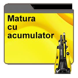 Matura cu acumulator