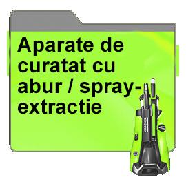 Aparate de curatat cu abur / spray-extractie