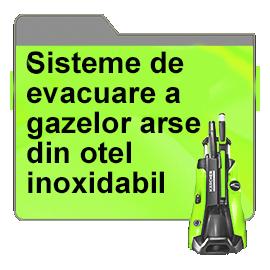 Sisteme de evacuare a gazelor arse din otel inoxidabil