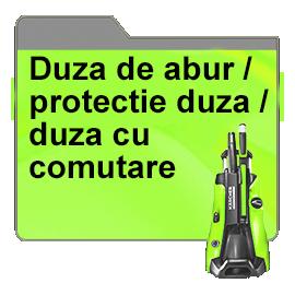 Duza de abur / protectie duza / duza cu comutare