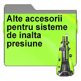 Alte accesorii pentru sisteme de inalta presiune