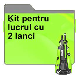 Kit pentru lucrul cu 2 lanci