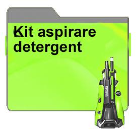 Kit aspirare detergent