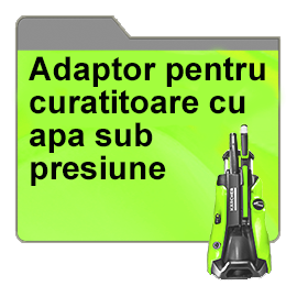 Adaptor pentru curatitoare cu apa sub presiune pentru casa & gradina