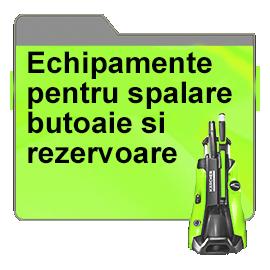 Echipamente pentru spalare butoaie si rezervoare