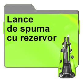 Lance de spuma cu rezervor