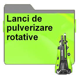 Lanci de pulverizare rotative