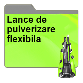 Lance de pulverizare flexibila
