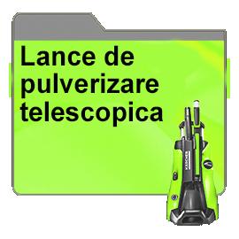 Lance de pulverizare telescopica