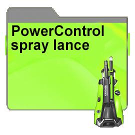 PowerControl spray lance
